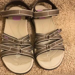Teva Tirra comfort sport sandals EUC